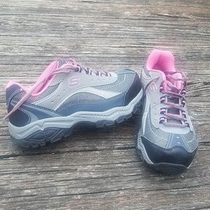 Sketchers skip resistant relaxed memory foam. 7